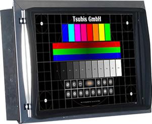 10,4 TFT Einbaumonitor für 12 CRT Monochrom- und 12 CRT Farbmonitor