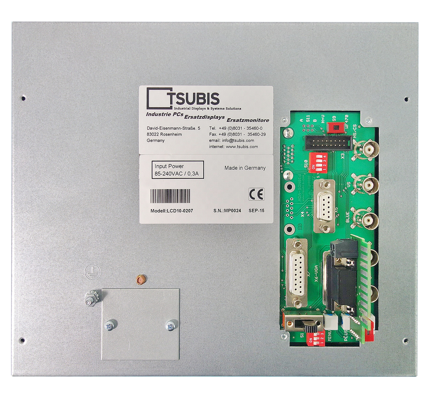 Ersatzmonitor für Okuma OSP 5000L