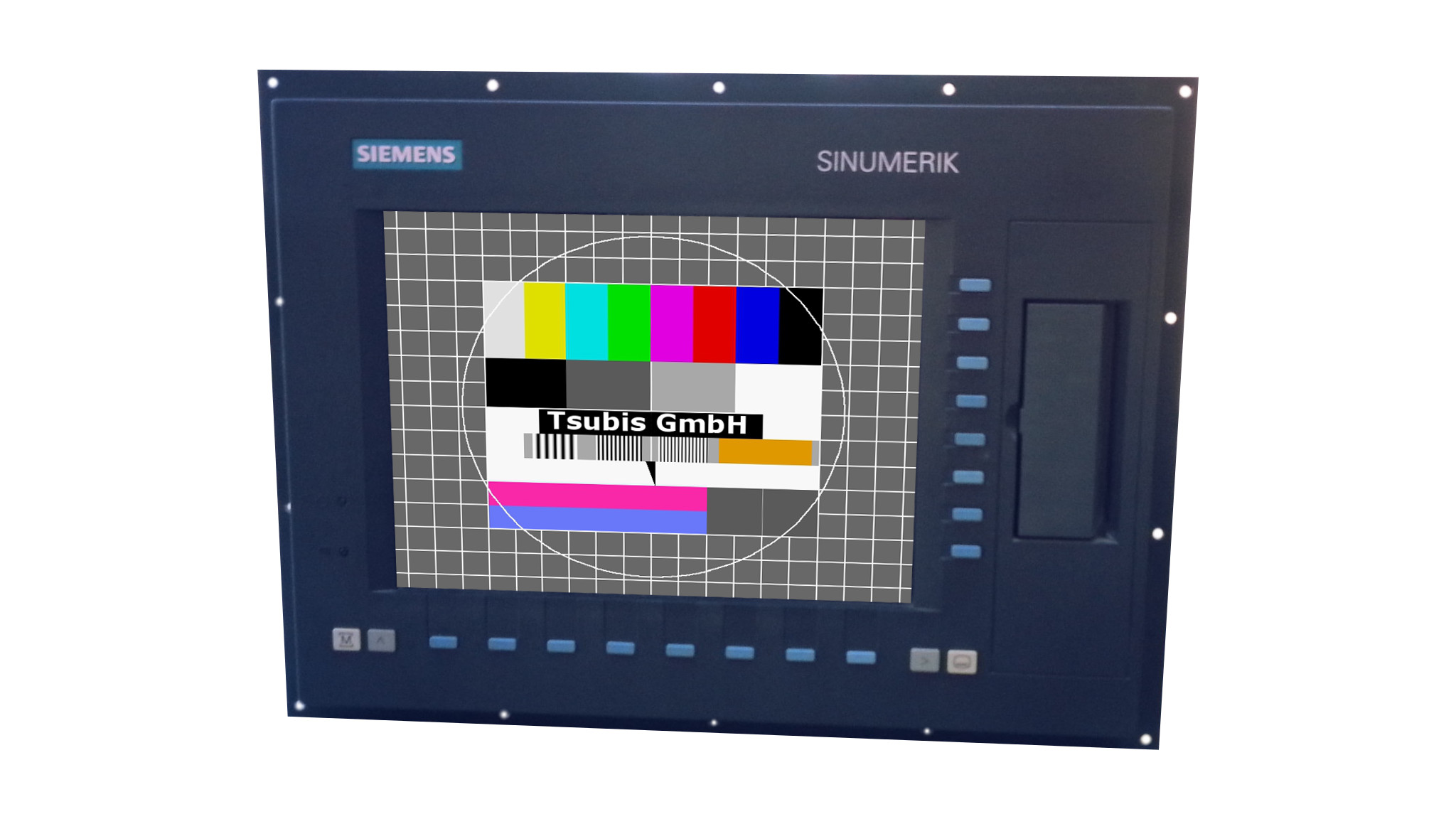Replacement monitor for Siemens Sinumerik 840 D
