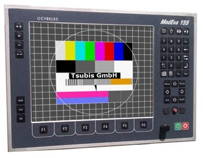 Replacement display Cybelec ModEva15S